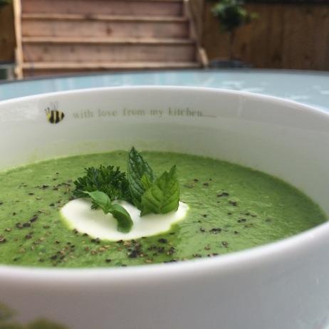 Pea Green Soup