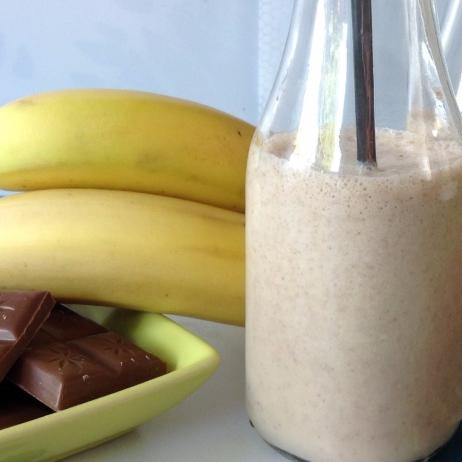 Chocolate and Banana Shake