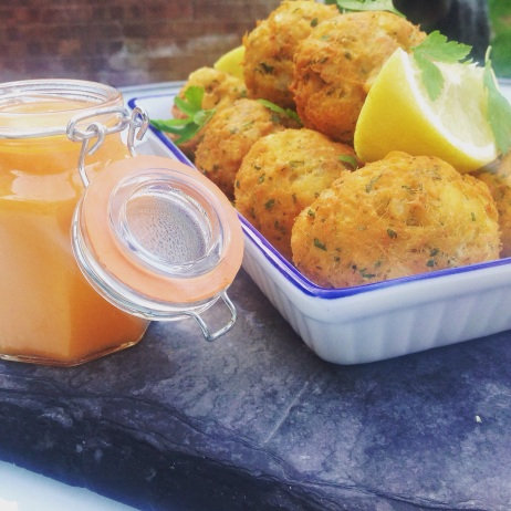 Jamaican Fish Fritters